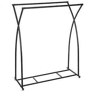 double rod clothing rack
